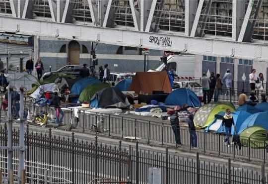 Tent City Chapelle